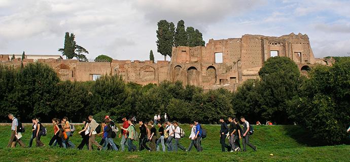 Heute sind die Ruinen der Atike (hier in Rom) Attraktion für Touristen
